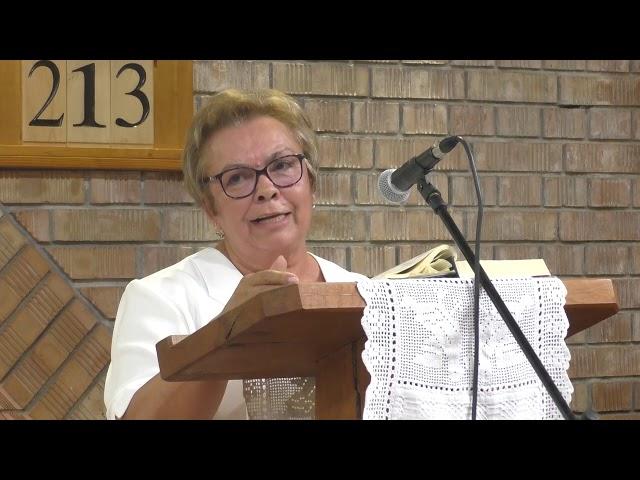 Lakatos Anka Igehirdetése 2019.08.17. Megbékélés Háza Templom - Országos Csendesnapok