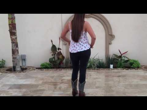 Vacation Line Dance Lesson Tutorial Only