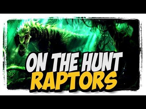 Raptors!!! Common To Rare Hunter Pets