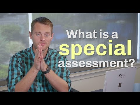 Questions Every Home Buyer Should Ask: What Is A Special Assessment?