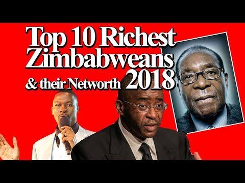 Top 10 Richest Zimbabweans  & their Networth 2018