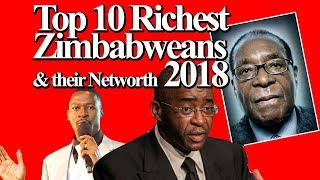 Gambar cover Top 10 Richest Zimbabweans  & their Networth 2018