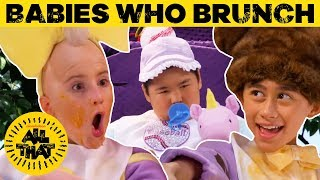 Babies Who Brunch 🍼 NEW Sketch! + BONUS Clip | All That Video