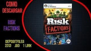 """TUTORIAL:""""Como Descargar Risk Factions"""" (depositfiles,2014,.ISO.FULL)"""