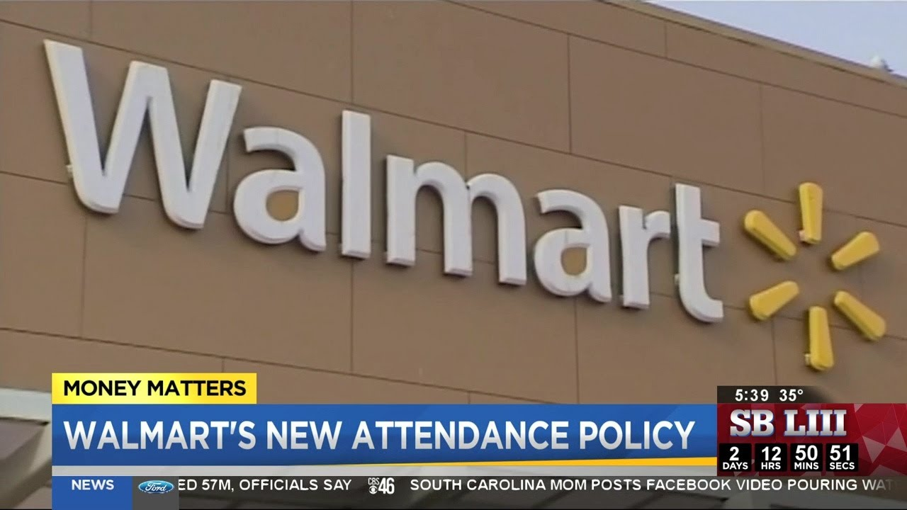Walmart is changing its sick leave policy, and will pay