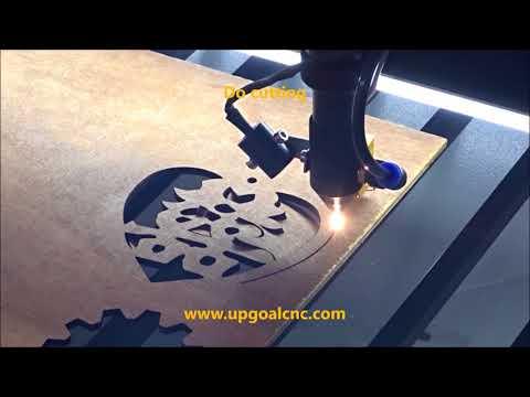 130W Wood Co2 Laser Cutting Machine with RuIDa 6442 Controller