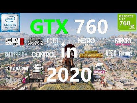 GTX 760 Test in 20 Games in 2020
