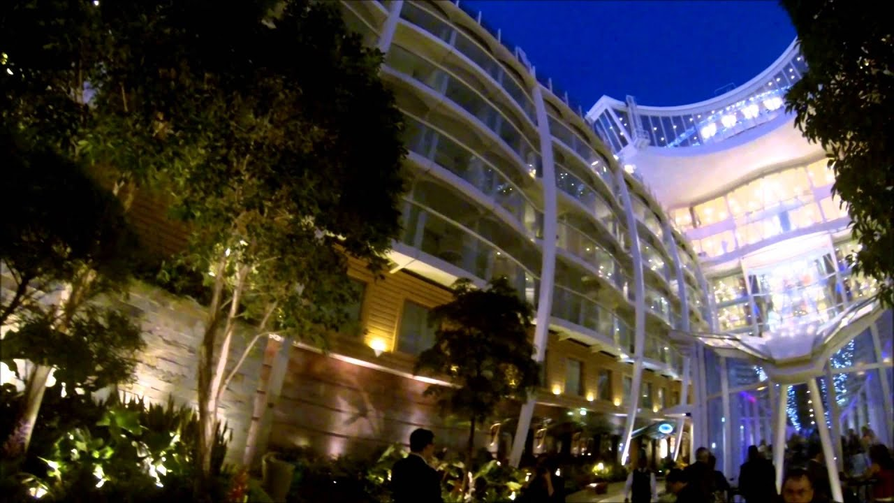 Allure Of The Seas Boardwalk Amp Central Park 2013 Youtube