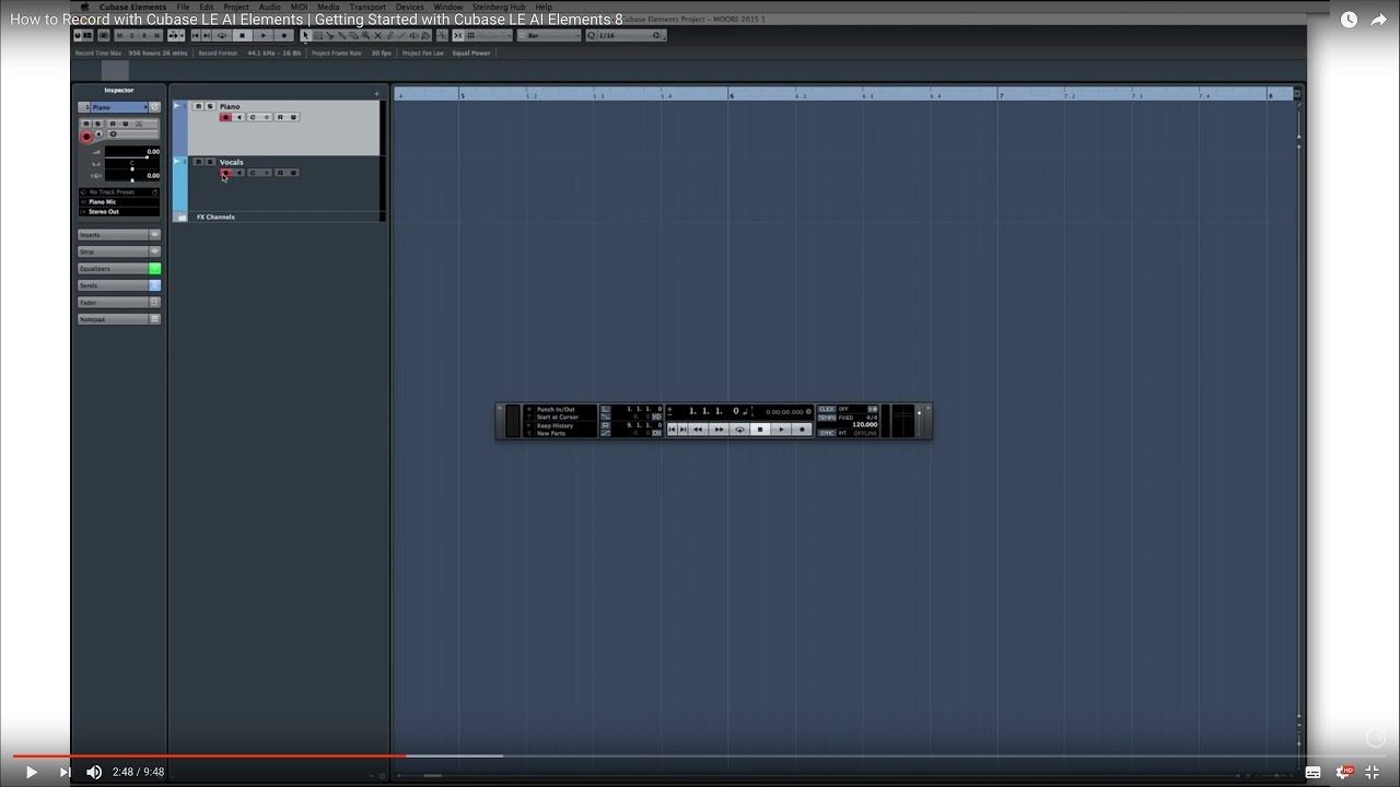 cubase le 8 software