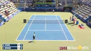 CHUNG, Hyeon(KOR) vs JENKINS, Jarmere(USA) 1set