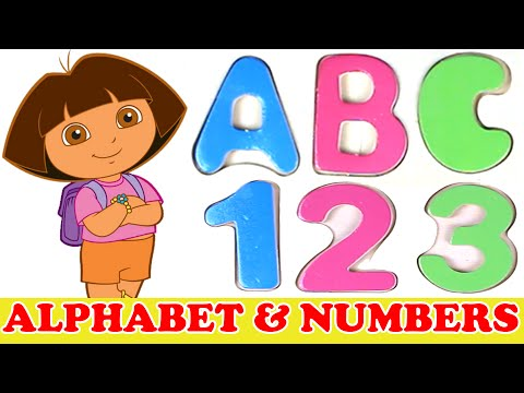 Learn Alphabet and Numbers with Dora the Explorer