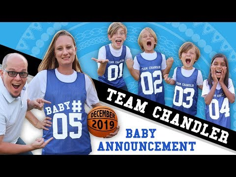 Team Chandler Emotional Surprise Baby Announcement! #5 Is On The Way! // Fifth Pregnancy Reaction