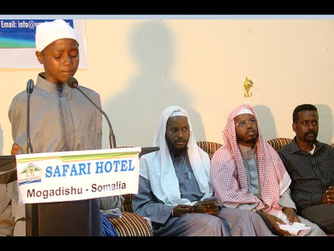 Somali Orphans charity Umul qura closing ceremony  2014