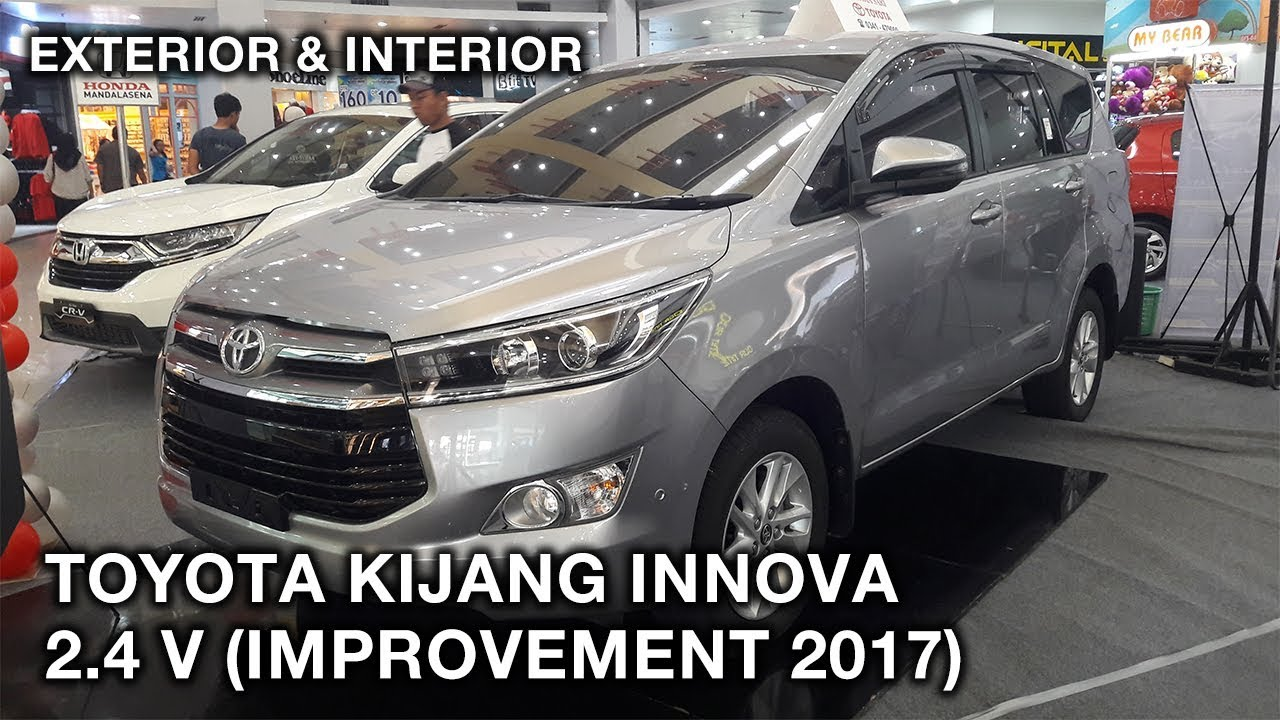 All New Kijang Innova Diesel Mobil Grand Veloz Toyota 2 4 V Improvement 2017 Exterior And Interior Walkaround