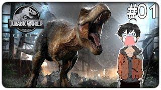 COSTRUIAMO IL PARCO DEI DINOSAURI DI ARK | Jurassic World Evolution - ep.01 [ITA]