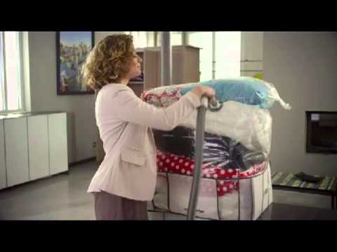 1001 innovations compactor rangement sous vide - youtube