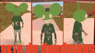 Skin de Deadmau5 Para GTA San Andreas