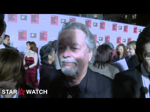 "Russ Tamblyn red carpet interview at ""West Side Story"" blu-ray premiere"