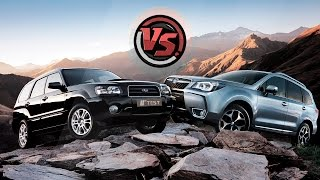 2hp: Subaru Forester 2016 VS Subaru Forester 2004