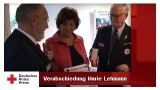 DRK - Verabschiedung von Marie Lehmann