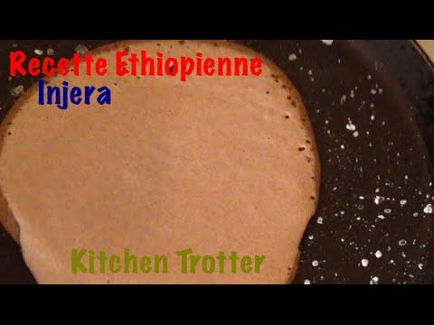 Injera recette accompagnement ethiopien -Test Kitchen Trotter