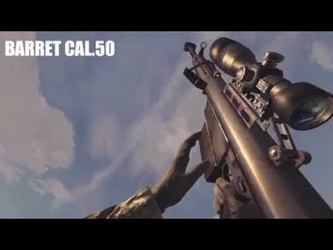 Call Of Duty 4 Modern Warfare All Weapons In Slow Motion [FULL HD, DX9, MAX DETAILS , COD 4 MW]