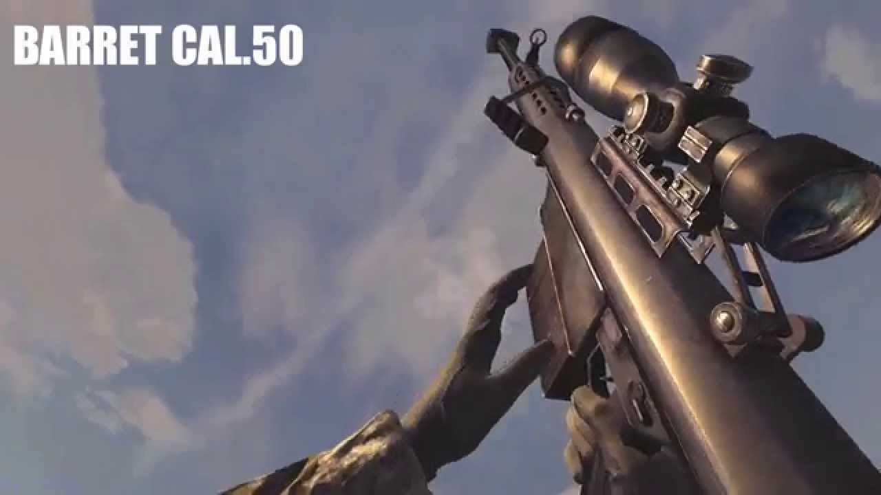 Call Of Duty 4 Modern Warfare All Weapons In Slow Motion