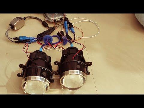 Renault Duster HID Fog Lights Installation - Part 2 : Projector Installation