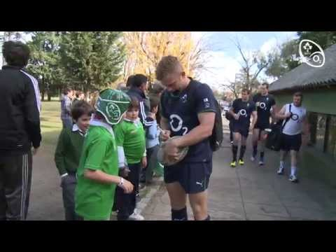 Irish Rugby TV: Ireland Train At Buenos Aires' Hurling Club