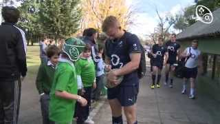 Irish Rugby TV: Ireland Train At Buenos Aires