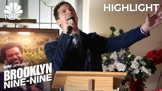 jake-sings-a-moving-tribute-to-doug-judy-at-his-funeral-brooklyn-nine-nine-episode-highlight