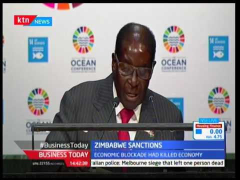 Robert Mugabe's plea on sanctions in Zimbabwe