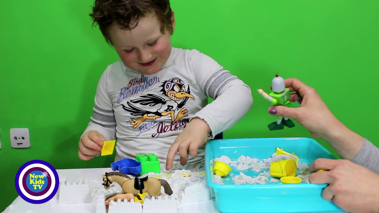 Magic Sand Playtime - New Kids TV