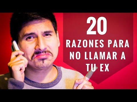 20 Razones Para NO Llamar Ni Mensajear A Tu Ex