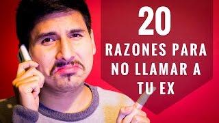 20 Razones Para NO Llamar Ni Mensajear A...