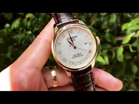 Review đồng Hồ Tissot Le Locle Powermatic 80 Automatic Men S Watch