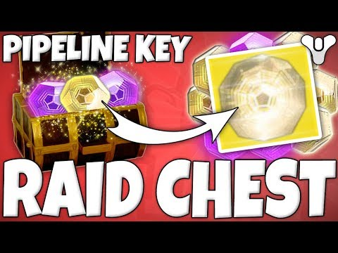 "Destiny 2 - ""PIPELINE KEY"" Secret Chest Location In LEVIATHAN RAID! (How To Get Pipeline Key Chest)"