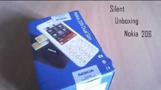 Nokia 206 Dual Sim - Silent Unboxing and Specs Overview