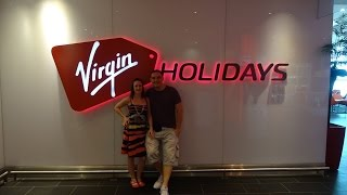 V-Room tour at Gatwick Airport - Virgin Holidays V-Lounge. Boarding the plane
