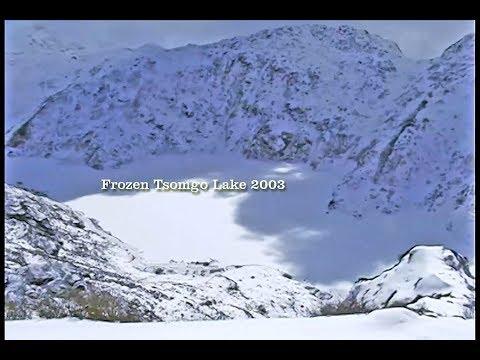 Frozen Lake TSOMGO (CHANGU) Sikkim 2003 || Heavy Snowfall in Tsomgo || Yak Ride in Tsomgo Lake