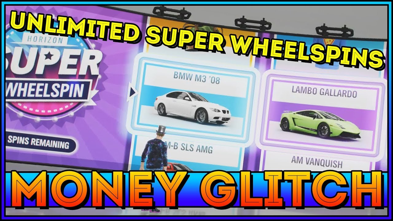 PATCHED! Forza Horizon 4 Money Glitch (Unlimited Super Wheelspins)