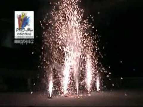 Interiérový ohňostroj na oslavu titulu Sparty od Pyro-JiVa