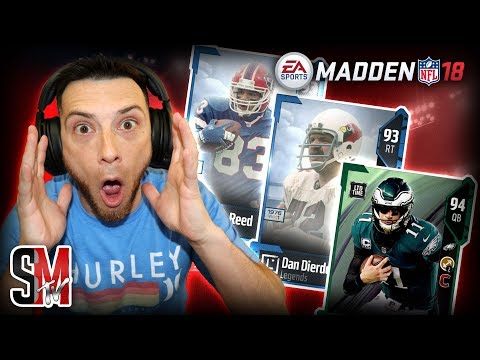 LIMITED EDITIONS FOOTBALL OUTSIDERS & NEW LEGENDS! PULLING FIRE FANTASY LEGEND PACKS - MADDEN NFL 18
