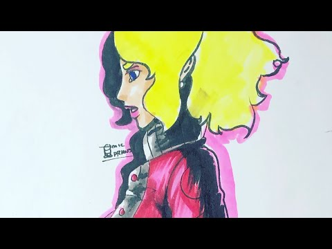 Draw Super Girl!