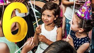 """ემილიას დაბადების დღე 🎉 ყველაზე დიდ ბავშვთა გასართობ ცენტრში """"ფოკუს მოკუსში"""" 🎪"""