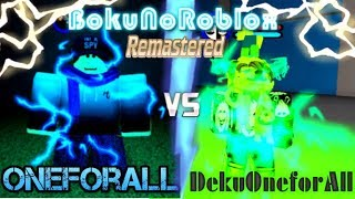 OFA REVAMP VS DOFA REVAMP! [Boku No Roblox:Remastered]