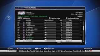 NHL 13: Colorado Co-GM Mode ep. 5 - Trade Deadline Thumbnail