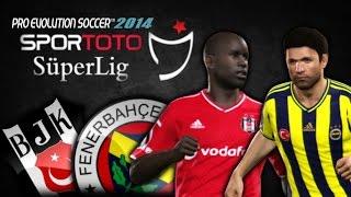 PES 2014 Beşiktaş vs Fenerbahçe   Spor Toto Süper Lig 2014/15   DERBI