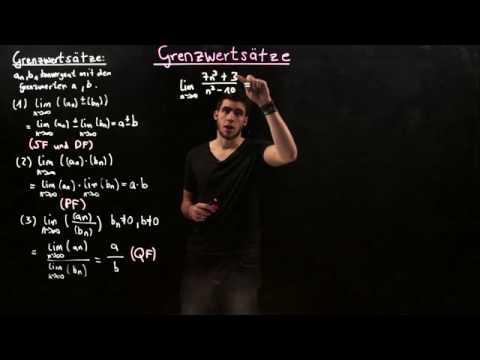 GRENZWERTSÄTZE FÜR FOLGEN | BEISPIELE | Mathematik | Zahlen, Rechnen und Größen