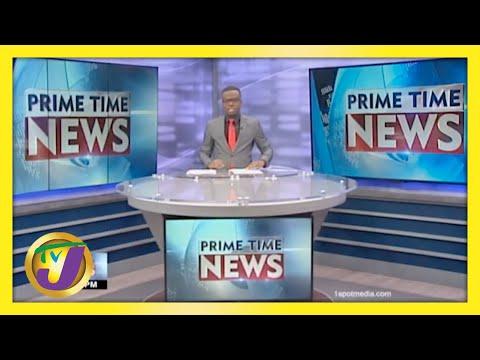 Jamaican News Headlines   TVJ News - May 8 2021